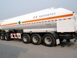 China 24 CBM 3 axles liquid argon tanker