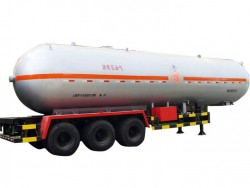 China supplier 56 CBM 3 axles LPG tanker